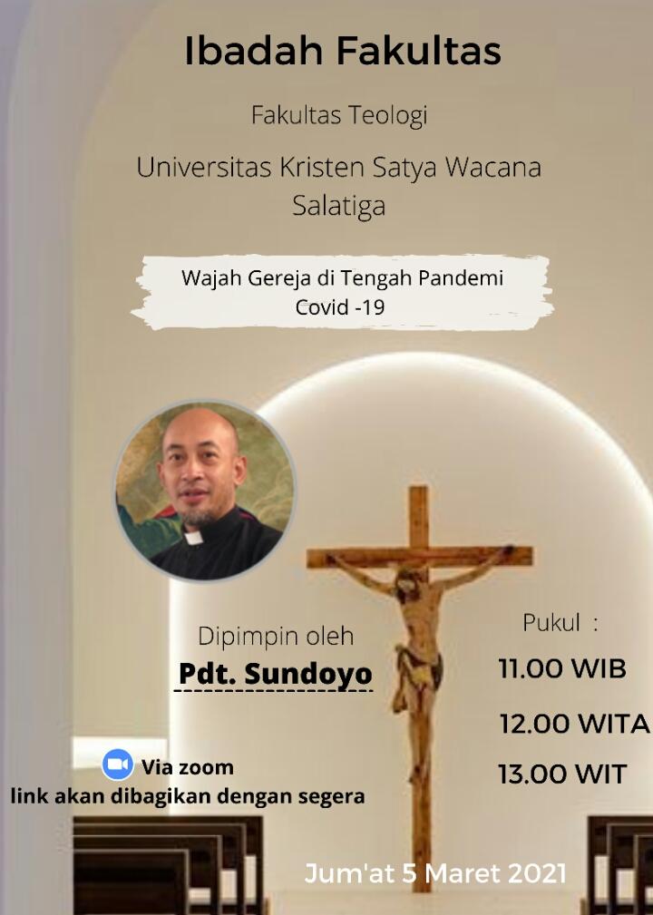 Ibadah Fakultas Teologi - 5 Maret 2021