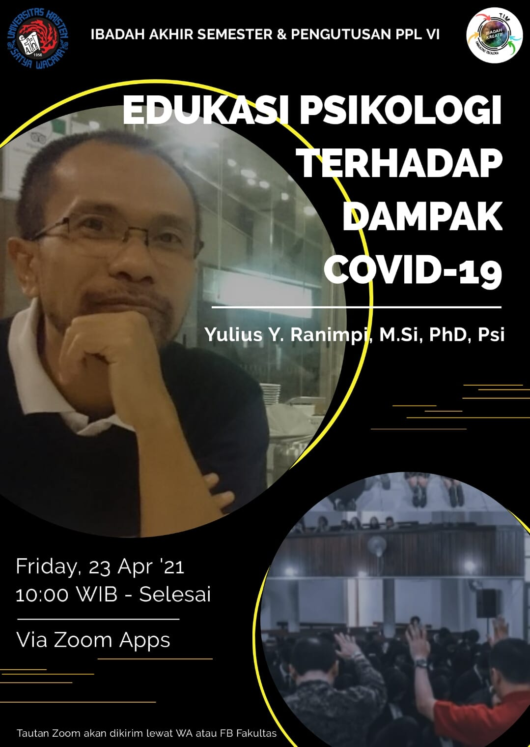 Ibadah Fakultas Teologi - 23 April 2021